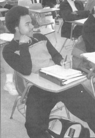 Student in Class Early 2000s