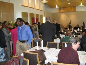 Attendees at Laney Breakfast
