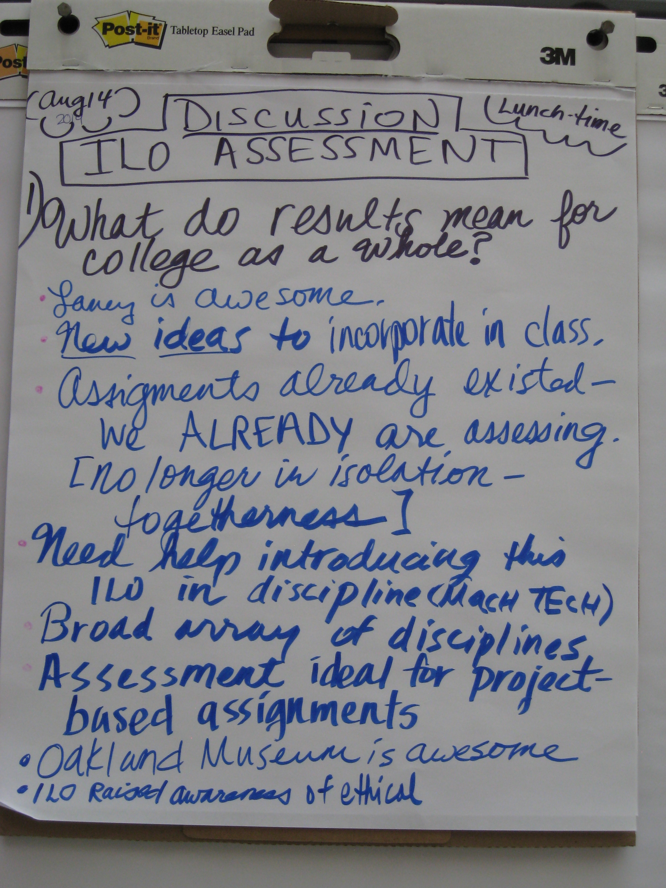 National Institute for Learning Outcomes Assessment |