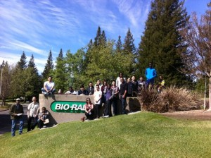 Tour of Bio-Rad in Hercules.