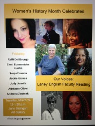 Our Voices FLYER