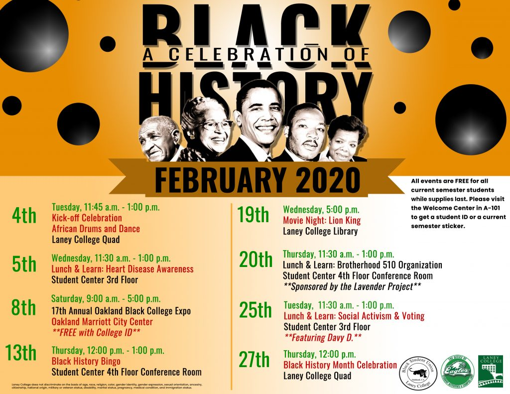 Black Hisotry Month 2020