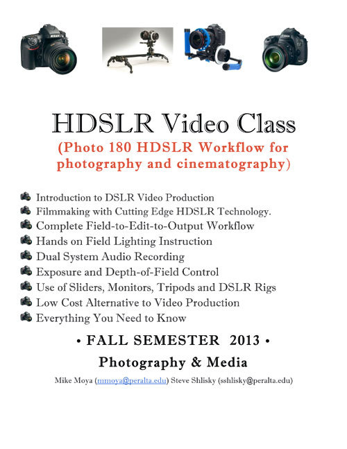 2013_HDSLR_ClassFlyer