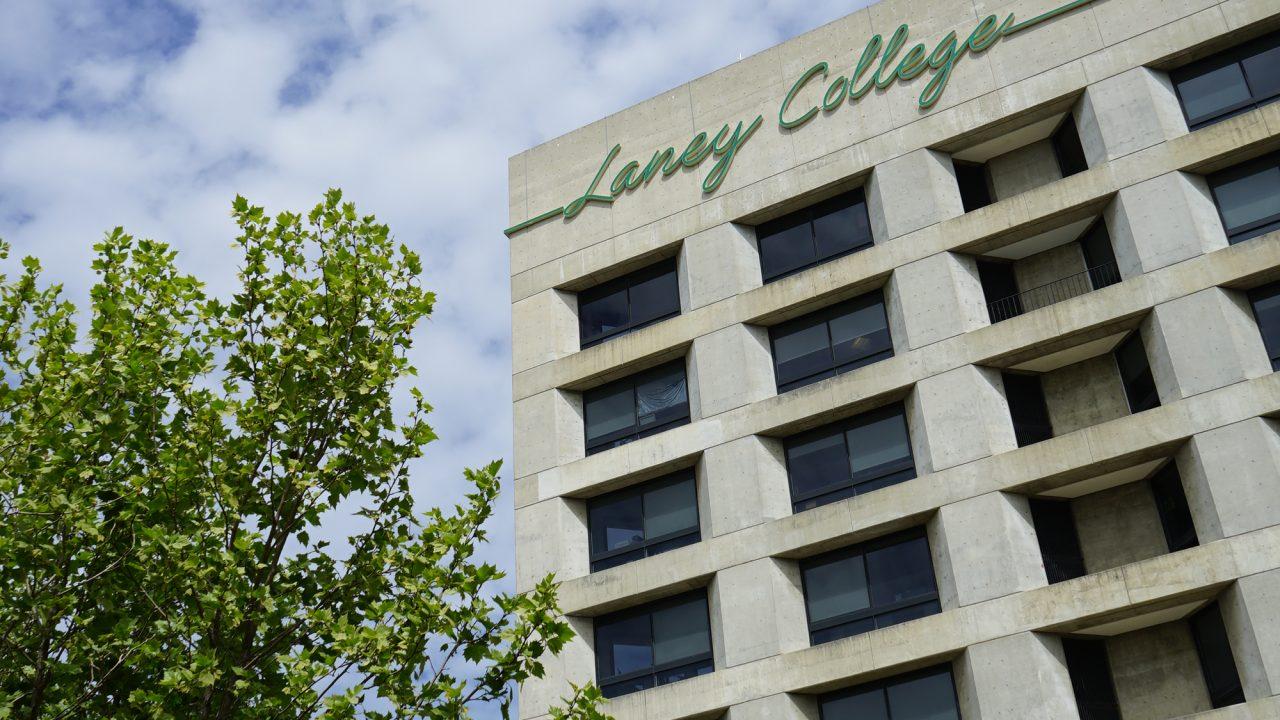Laney College Tower Building photo by Max Bernal