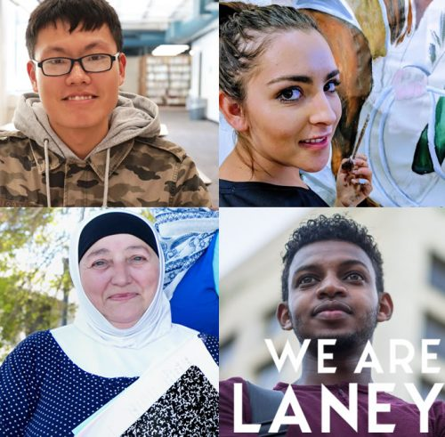 We are Laney -Students