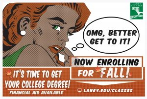 Laney College Enroll Today