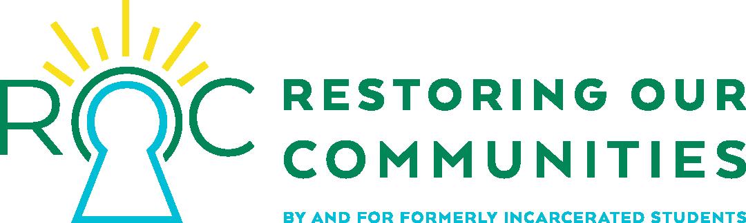 New logo for the Restoring Our Communities program