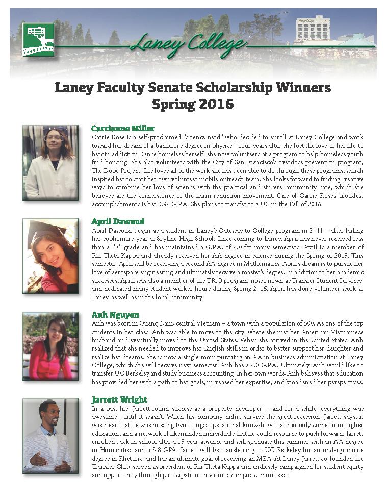 FS Scholarship 2016