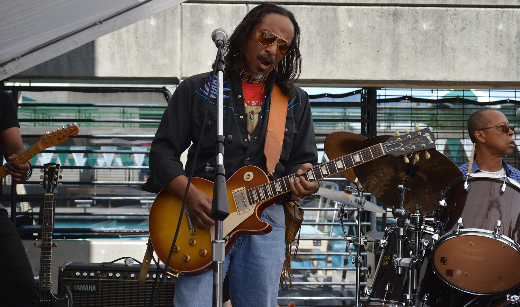Guitarrist at Laney College Event