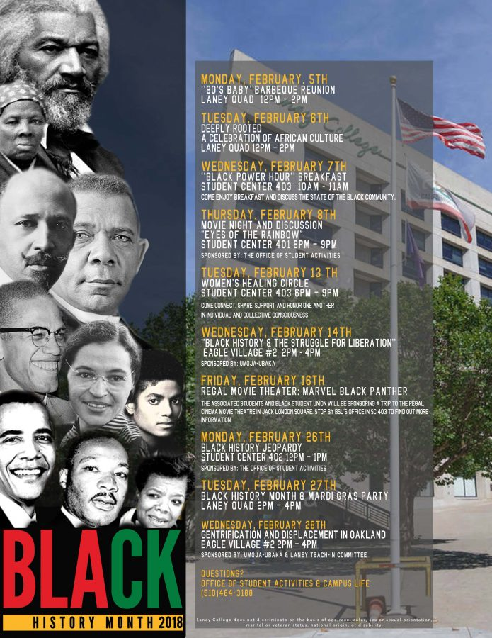 Black History Month 2018 events at Laney College