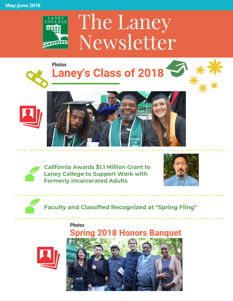 the laney newsletter may june 2018 laney college laney college