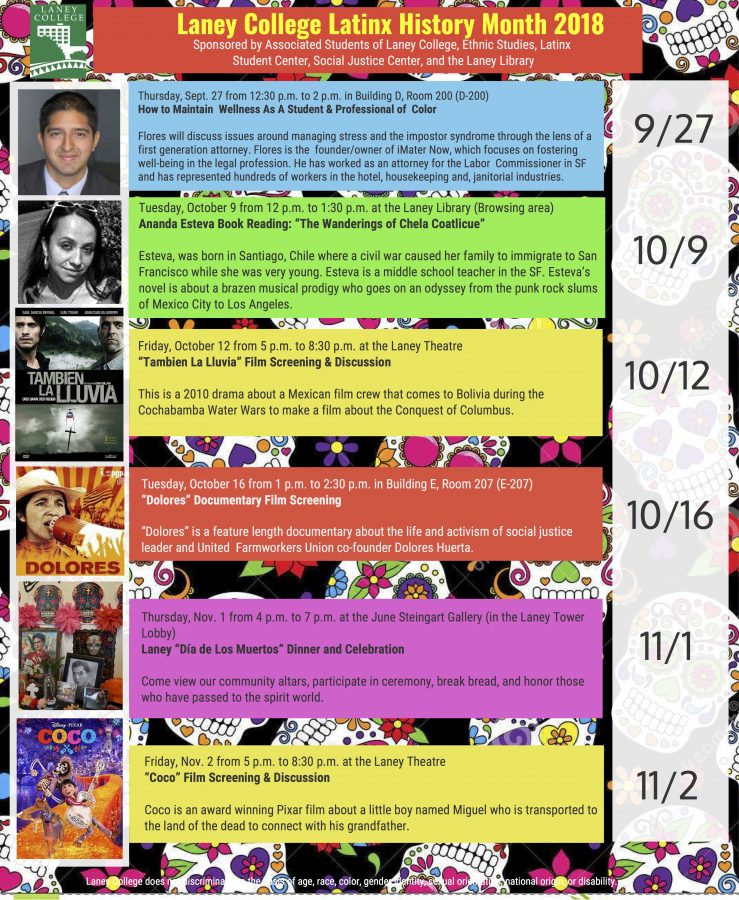 Latinx History Month Events