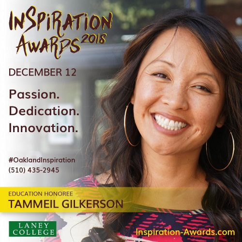 Laney College President Gilkerson Honored with Inspiration Award